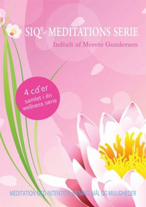 SIQ- Meditations Serie med 4 cder