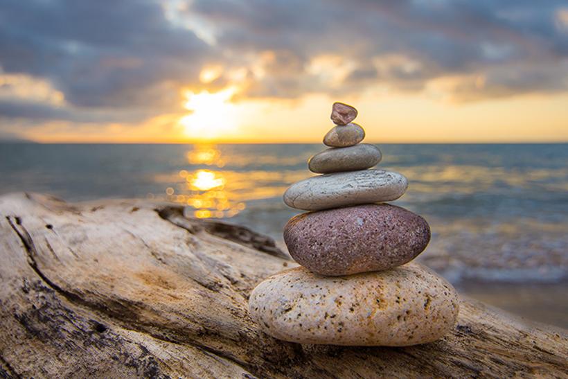 Meditation stress og flow